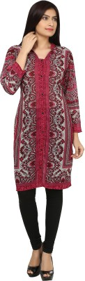 Bhane Printed Women,s Straight Kurta