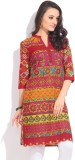 Tasrika Printed Women's Straight Kurta (...