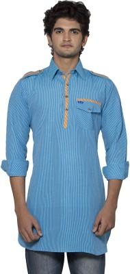 Nauhwar Self Design Men,s Pathani Kurta