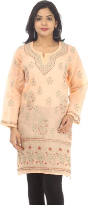Live With Style Embroidered Women,s Straight Kurta