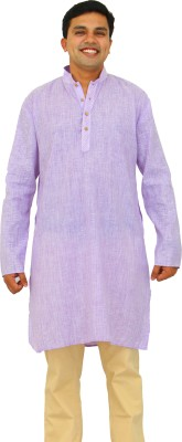 Daddy's Capes Solid Men's Straight Kurta