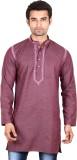 Ehaani Self Design Men's Straight Kurta ...