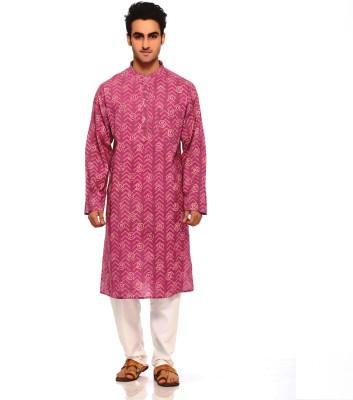 Aapno Rajasthan Printed Men's A-line Kurta