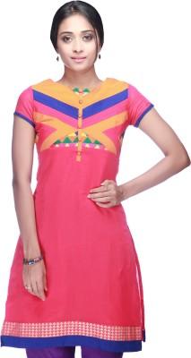 Haute Curry Self Design Women's Straight Kurta