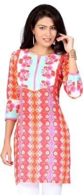 Lifestyle Retail Floral Print Women's Straight Kurta