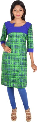 Rampwaq Printed Women's Straight Kurta