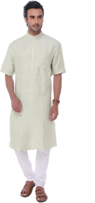 Jadeblue Striped Men's Straight Kurta