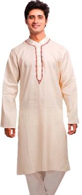 Aapno Rajasthan Solid Men's A-line Kurta