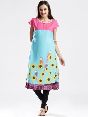 Masaba for Anouk Self Design Women's A-line Kurta