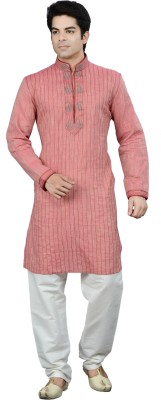 Manish Creations Embellished Men's Straight Kurta