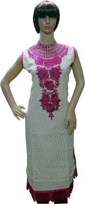 Sarva Embroidered, Self Design Women's Straight Kurta