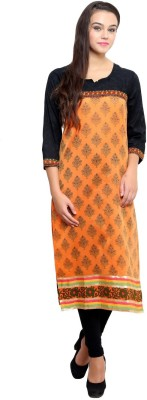 Ritzzy Embroidered Women's Straight Kurta