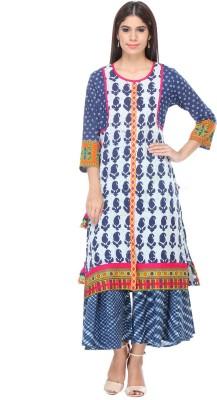 We Desi Printed Women's Straight Kurta