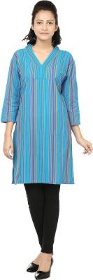 Reevolution Striped Women's A-line Kurta