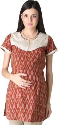Morph Maternity Printed Women's Straight Kurta