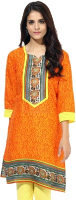 Jaipur Kurti Printed Women's Straight Kurta