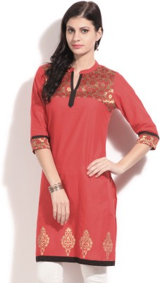 Anahi Solid Women's Straight Kurta