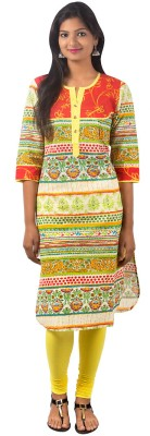 SBS Printed Women's Straight Kurta