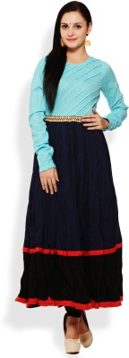 Aana Solid Women,s Anarkali Kurta
