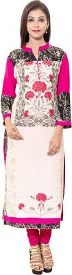 Reet Designers Floral Print Women's Straight Kurta