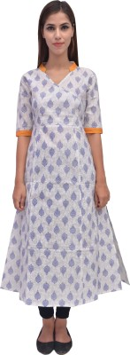 ARYA The Design Gallery Printed Women's Straight Kurta