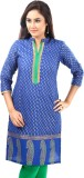 Sohniye Printed Women's Straight Kurta (...