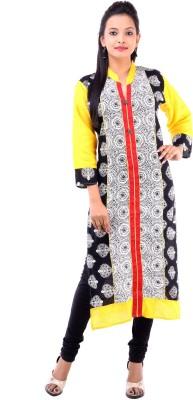 Abhinandan Crafts Printed Women's Straight Kurta