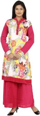 Darshita Floral Print Women's A-line Kurta