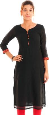 Naksh Jaipur Solid Women's Straight Kurta
