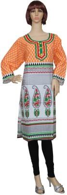 Sarva Printed Women's Straight Kurta