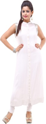 Your Wardrobe Solid Women's Straight Kurta