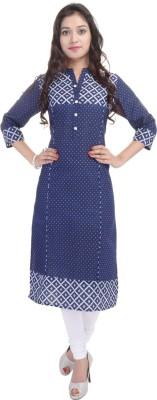 BluePocket Printed Women,s Straight Kurta