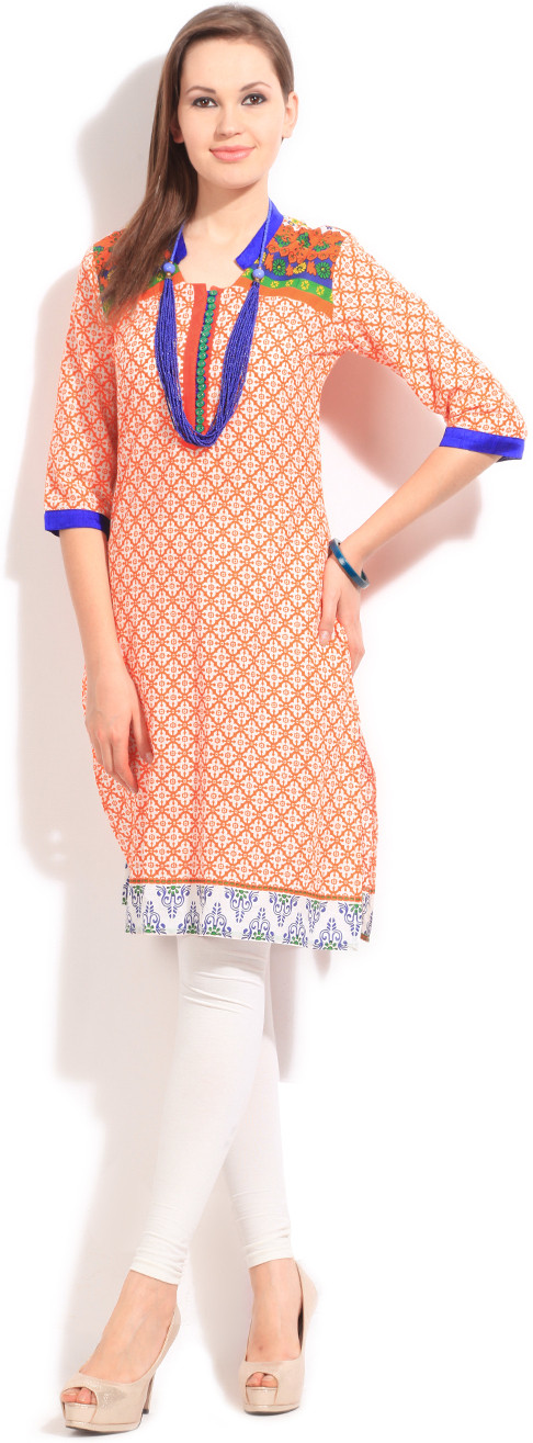 Ishwar Womens Wear Printed Womens Kurta