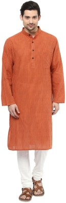 Design House Solid Men's A-line Kurta