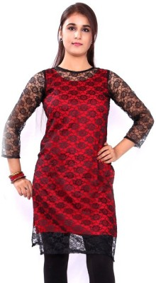 HOOR Solid Women's Straight Kurta