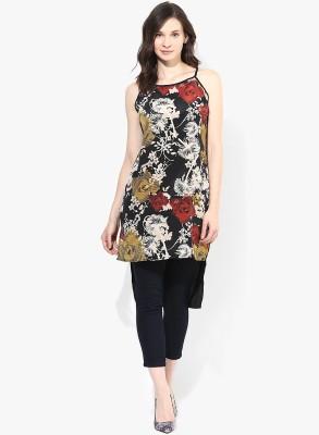Popnetic Floral Print Women's Straight Kurta