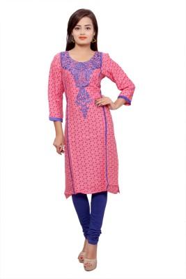 Inaraa Designs Embroidered, Printed Women's Straight Kurta
