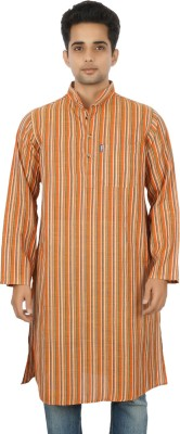 Dzayr Striped Men's A-line Kurta