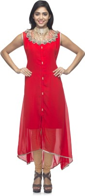 G&Z Collections Embellished Women's Flared Kurta