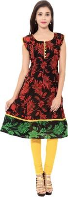 Veera Designers Printed Women's Flared Kurta