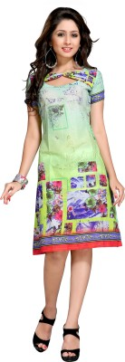 Victorian Clothing Party Printed Women's Kurti