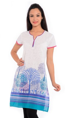 Geroo Printed Women's Straight Kurta