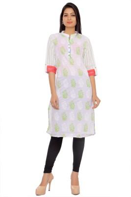inaraa designs Printed Women's Straight Kurta