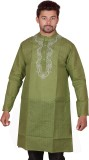 Nazakat Chikan Embroidered Men's Straigh...