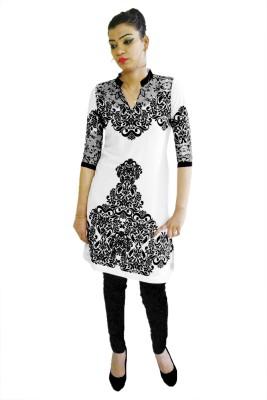 Embellish Outfits Printed Women's Straight Kurta
