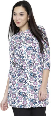Anouk Printed Women's Straight Kurta(Multicolor) at flipkart