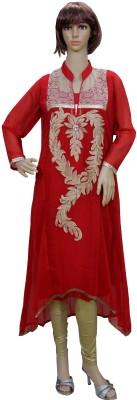 Sarva Embellished Women's Straight Kurta