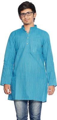 Bhartiya Paridhan Striped Men's Straight Kurta