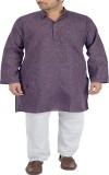 Sai Chikan Men's Kurta and Pyjama Set