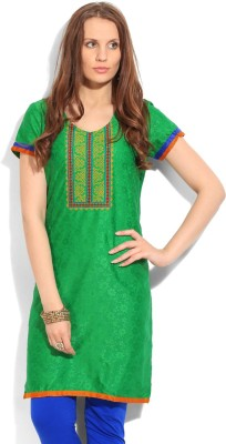 Tasrika Self Design Women's Straight Kurta